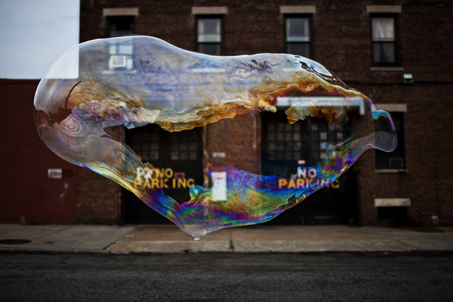 Bubble Red Hook No Parking C web